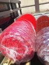 """Сетка плетеная """"Рабица"""" красная с полимерным покрытием (ПВХ) яч.55х55"""